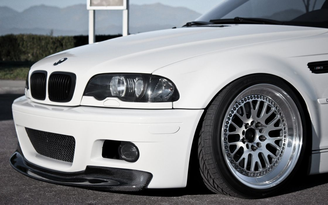 Bmw White Cars Vehicles Tuning Wheels Bmw M3 Sports Cars Bmw E46