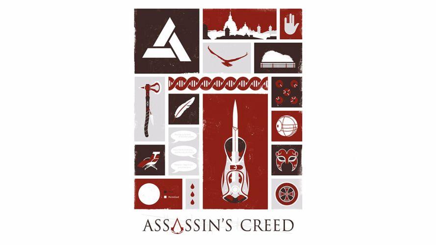 video games Assassins Creed Ubisoft Animus fan art Desmond Miles wallpaper