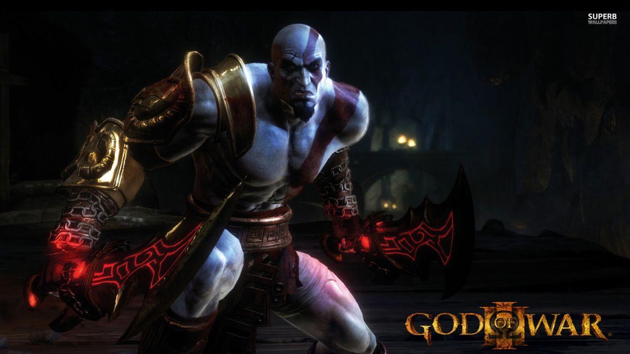 video games God of War posters God Of War 3 Kratos screens wallpaper
