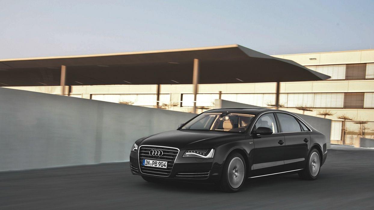 cars Hybrid Audi A8 wallpaper