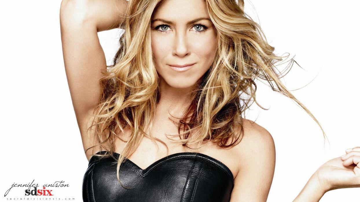 women American actress models Jennifer Aniston celebrity smiling wallpaper