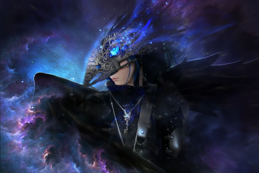 Supernatural beings Fantasy angel dark gothic magic warrior armor     f wallpaper