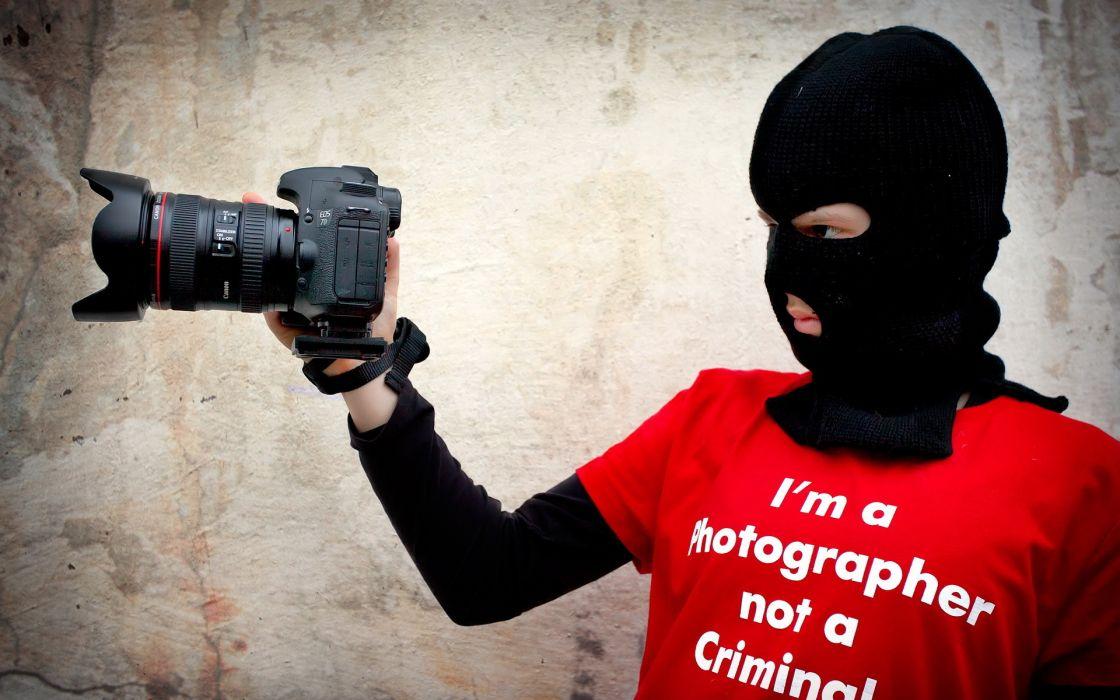 Creative Camera photography mask mood sadic text wallpaper