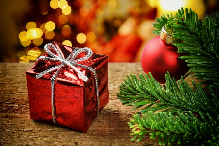 Holidays Christmas ( New year ) Gifts wallpaper