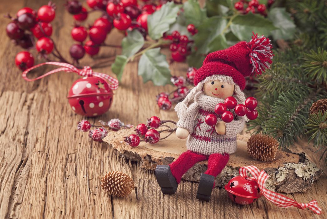 Toys Christmas ( New year ) Doll wallpaper