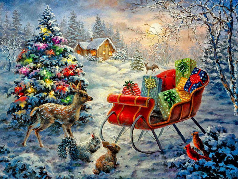 christmas  he wallpaper