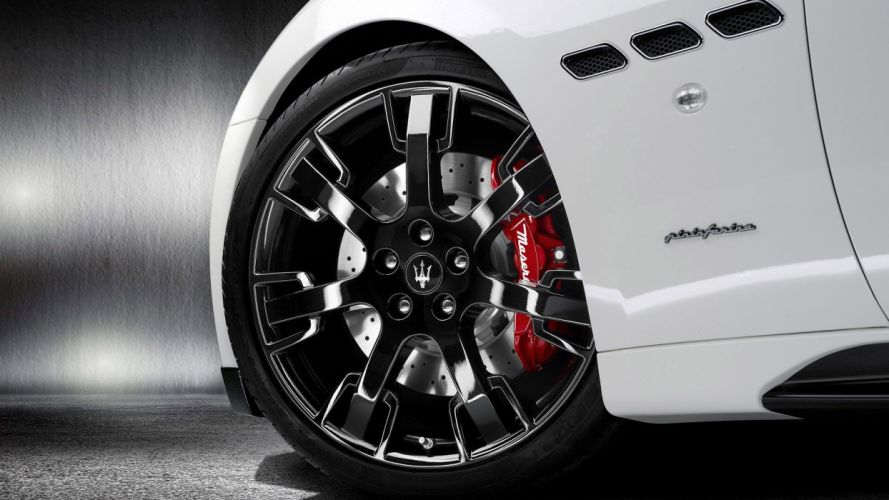 cars Maserati vehicles car tires wallpaper
