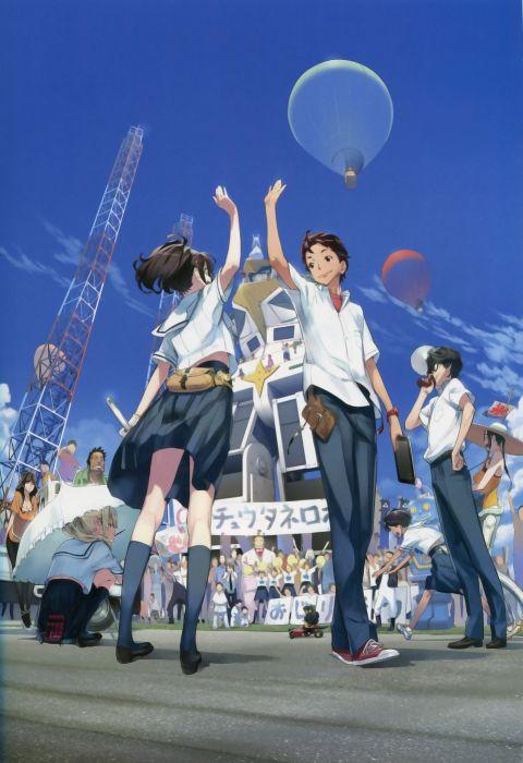 Frau Kojiro Robotics;Notes Senomiya Akiho Yashio Kaito Daitoku Junna Hidaka Subaru Yukifune Airi wallpaper