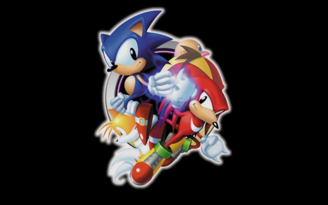 Sonic the Hedgehog Knuckles the Echidna wallpaper