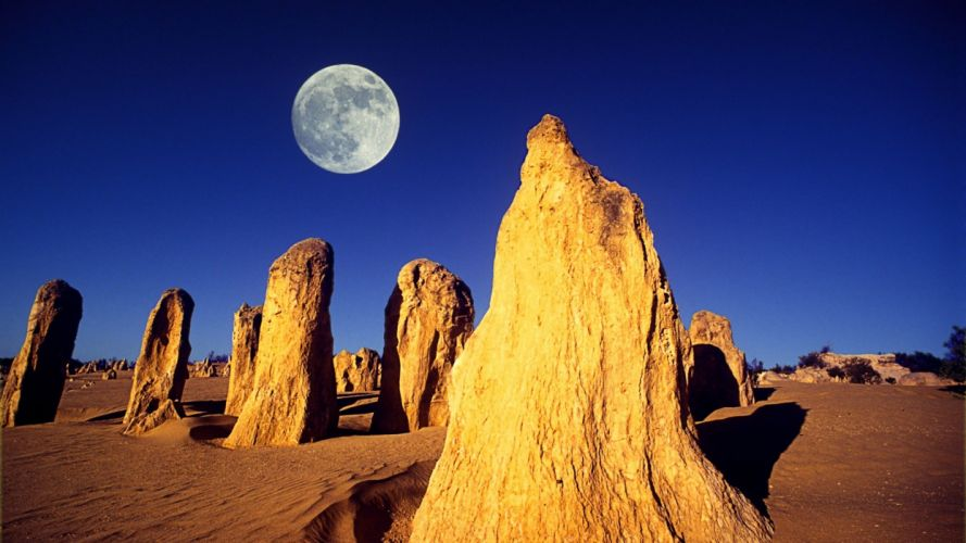 deserts Moon Android skies tablet wallpaper