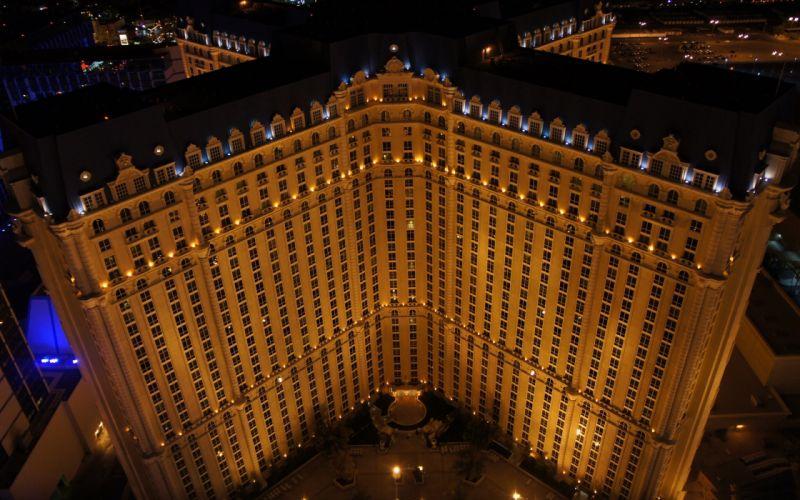 Paris cityscapes architecture Las Vegas wallpaper