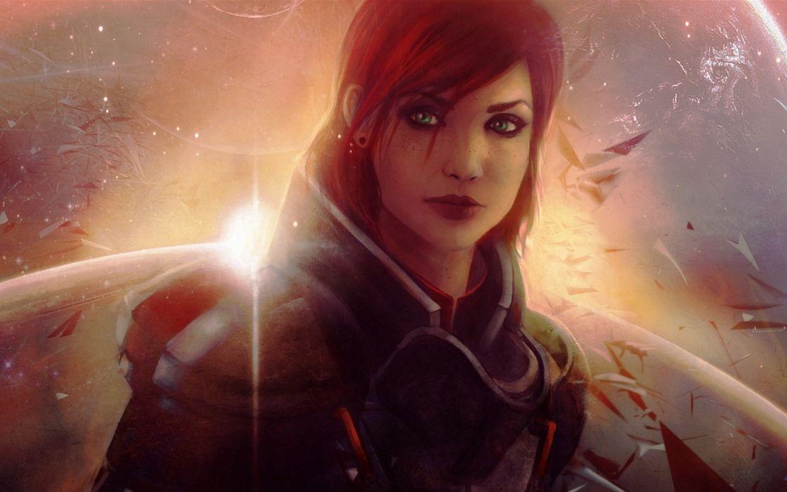 Mass Effect 3 Commander Shepard wallpaper