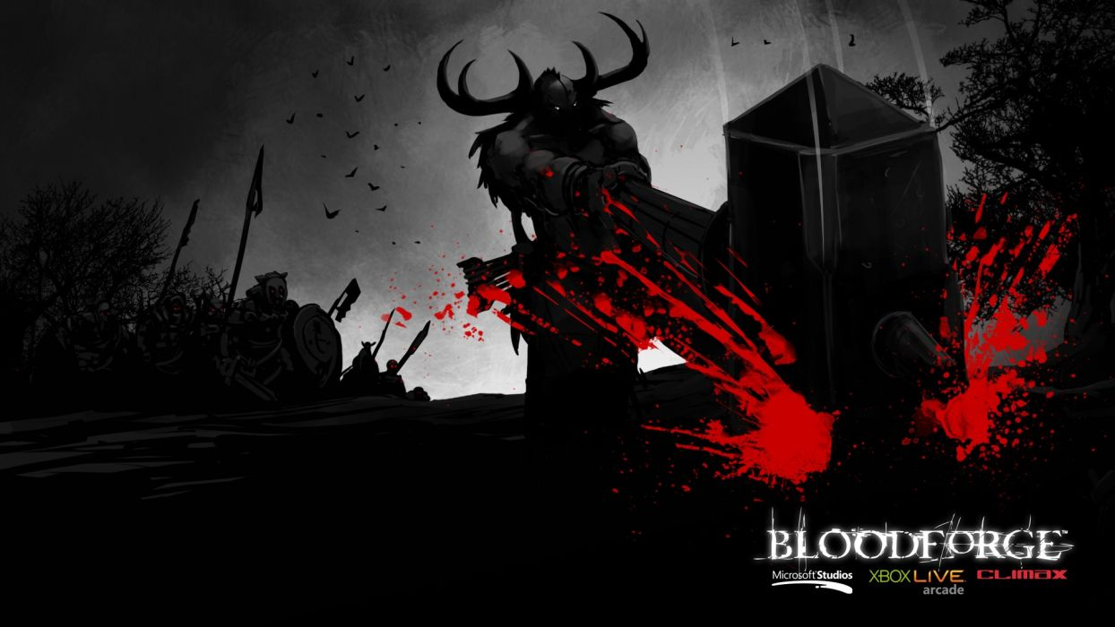 game bloodforge wallpaper