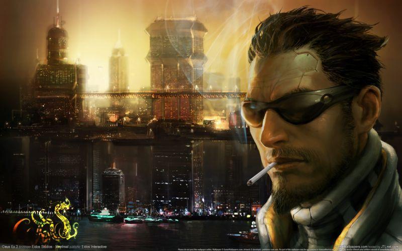 video games Deus Ex: Human Revolution Adam Jensen wallpaper