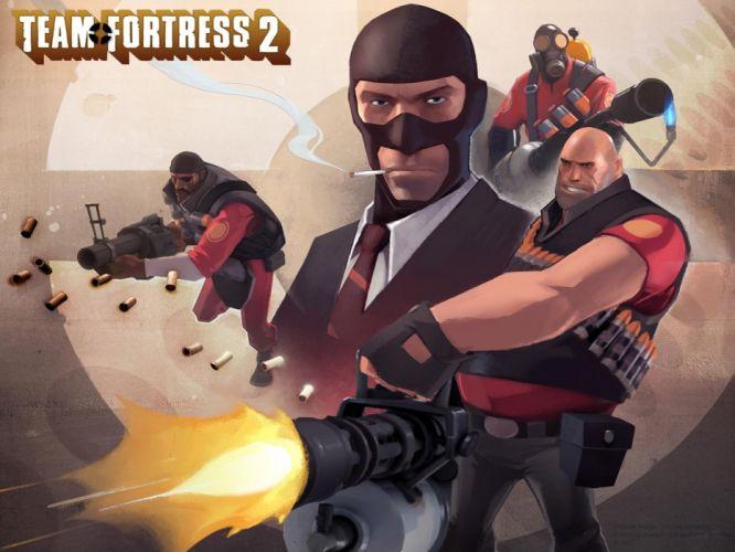 video games Heavy TF2 Pyro TF2 Spy TF2 Demoman TF2 Team Fortress 2 Pyro Heavy wallpaper