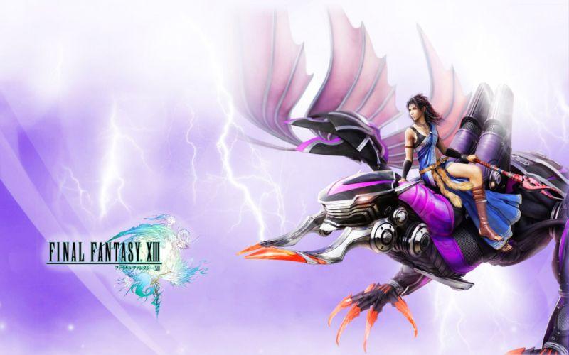 Final Fantasy Final Fantasy XIII wallpaper