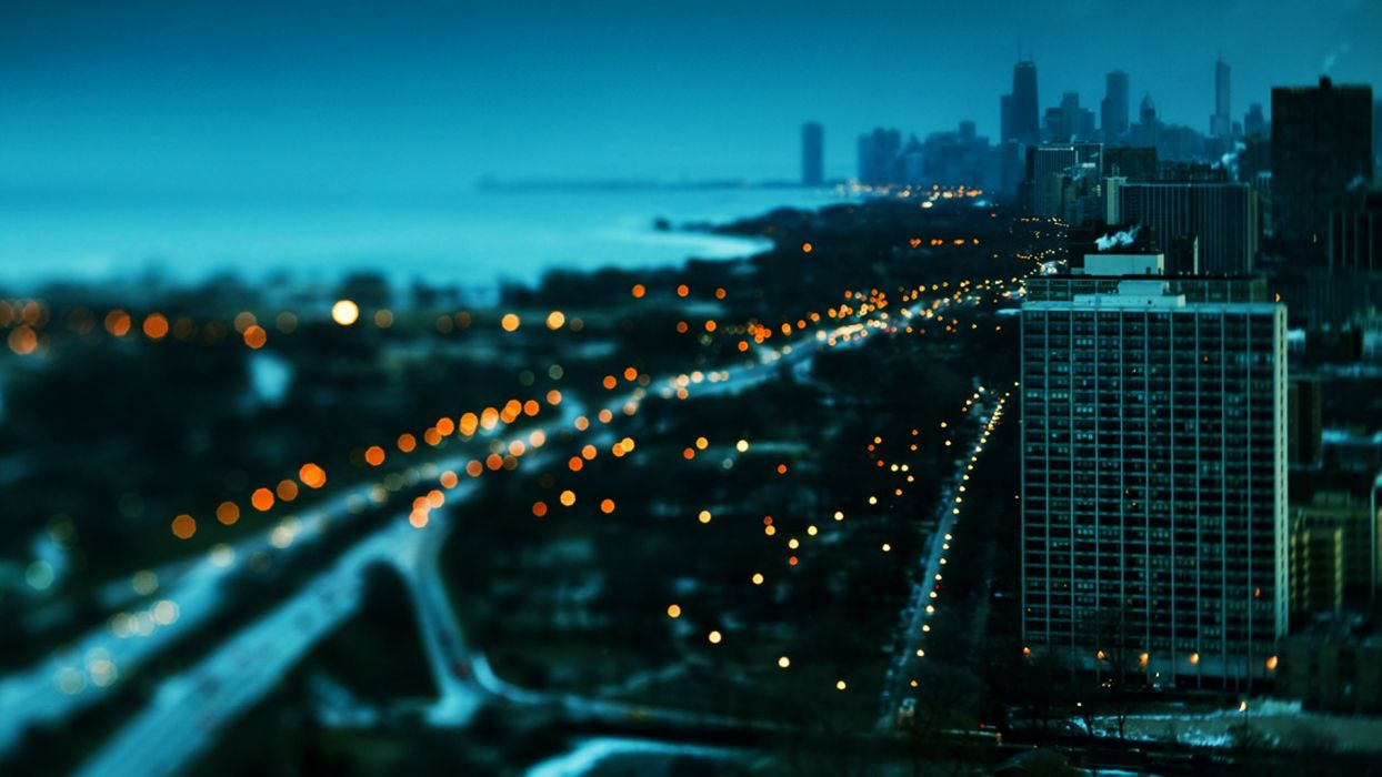 Sunset cityscapes chicago towns skyscrapers bokeh lake shore drive sunset cityscapes chicago towns skyscrapers bokeh lake shore drive wallpaper voltagebd Images