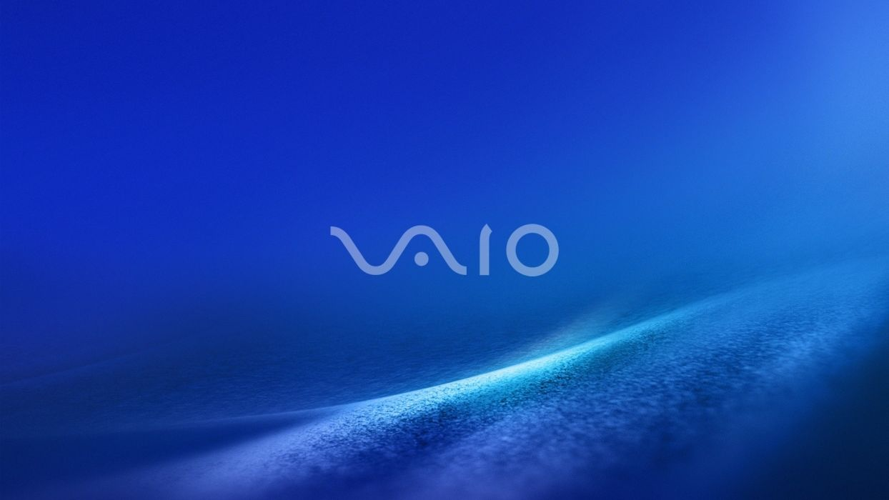 computers logos Sony VAIO wallpaper