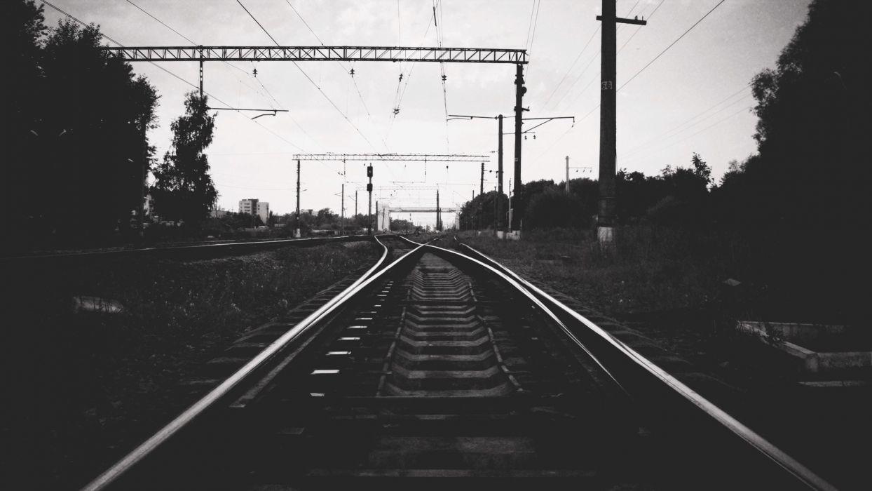 railway railways wallpaper
