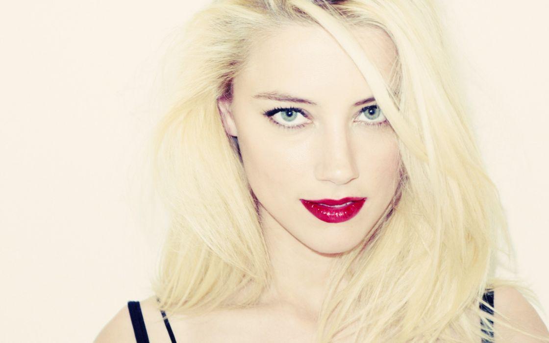 blondes Amber Heard wallpaper