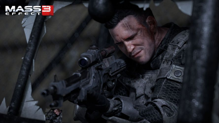 video games CGI Mass Effect Mass Effect 3 games wallpaper