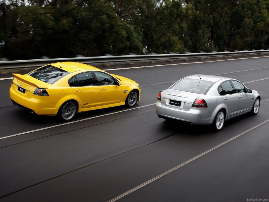 cars Commodore Holden sports cars Holden Commodore yellow cars silver cars wallpaper