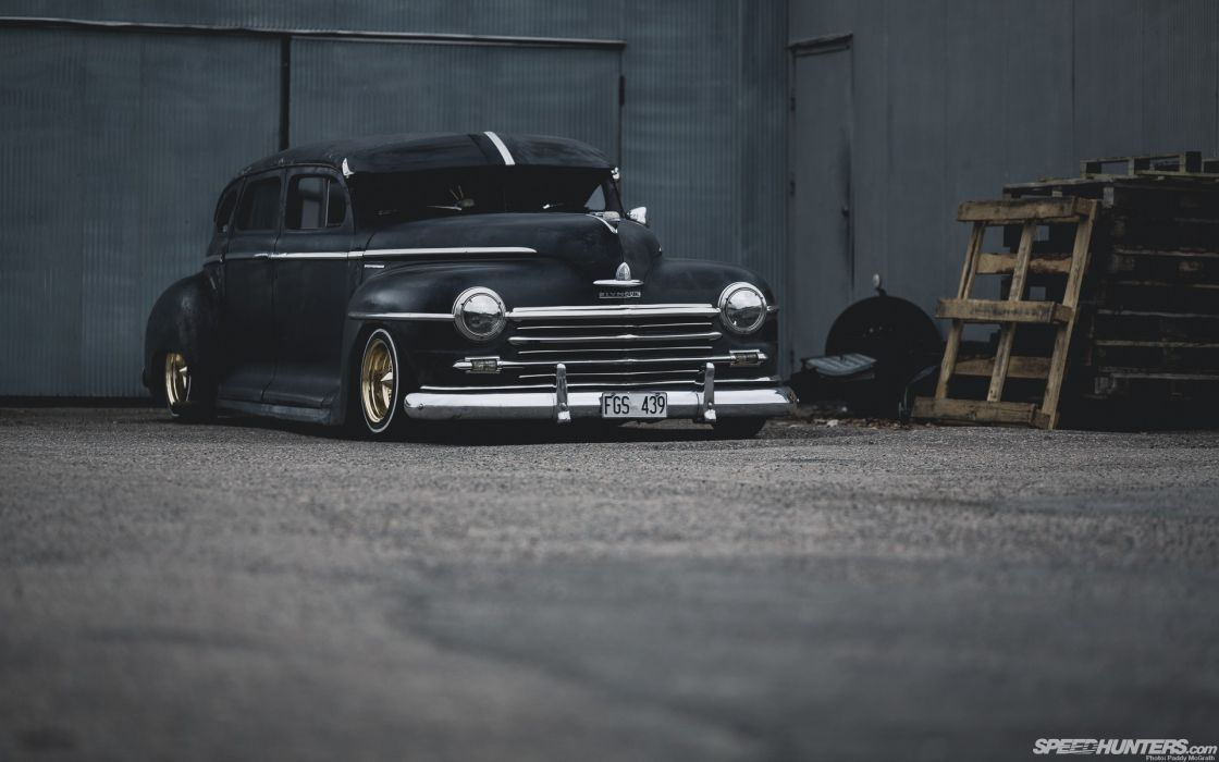 cars Plymouth rusted tuning black cars drift garage Speedhunters low rider jdm wallpaper