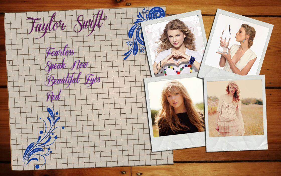 women Taylor Swift wallpaper