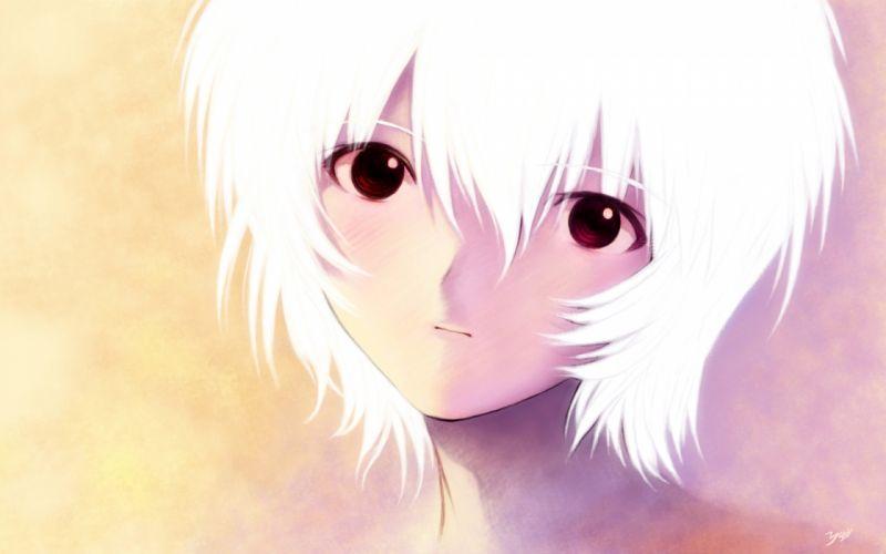 Ayanami Rei Neon Genesis Evangelion anime girls wallpaper
