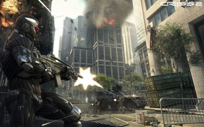 soldiers video games Crysis Crysis 2 games wallpaper