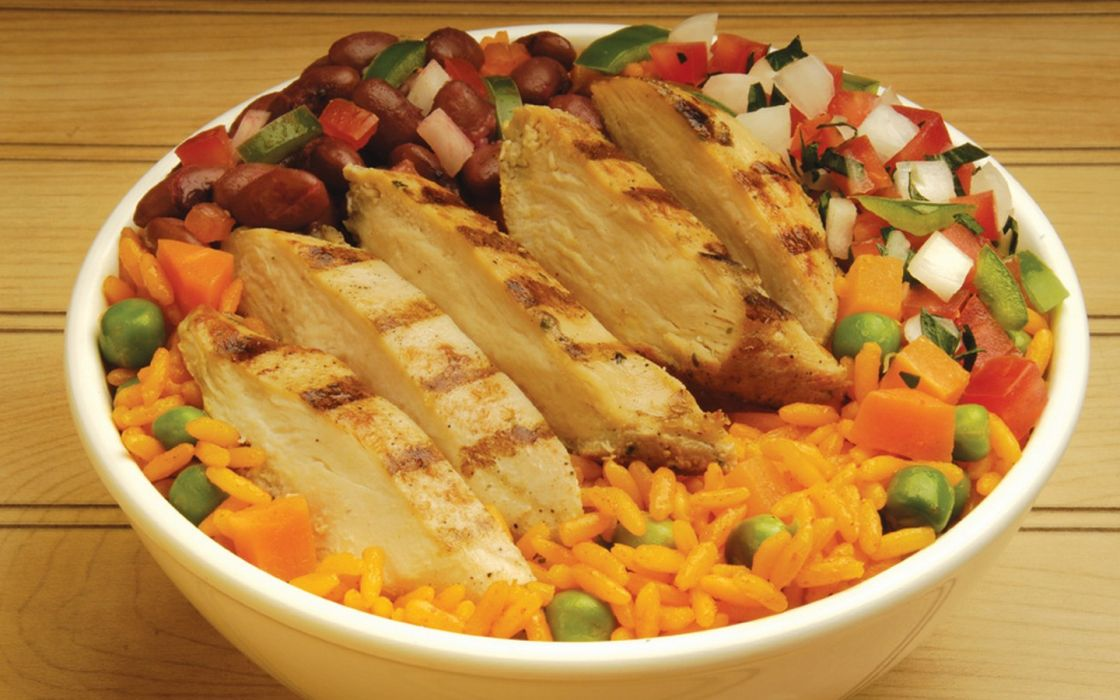 food rice chickens wallpaper