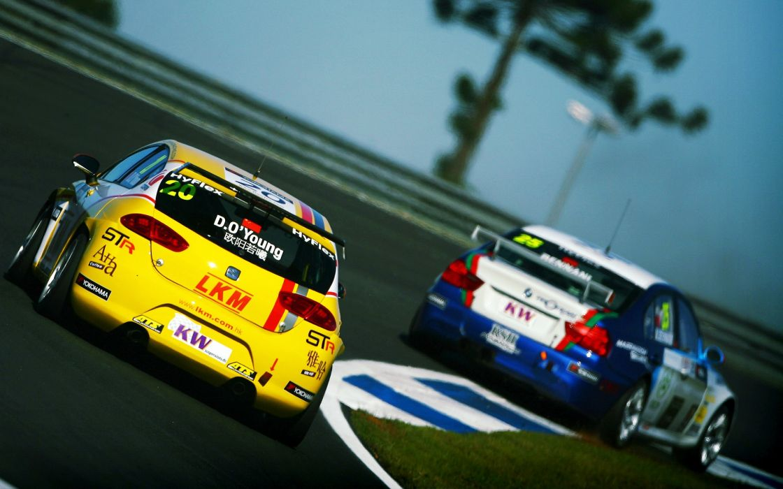 racing wtcc wallpaper
