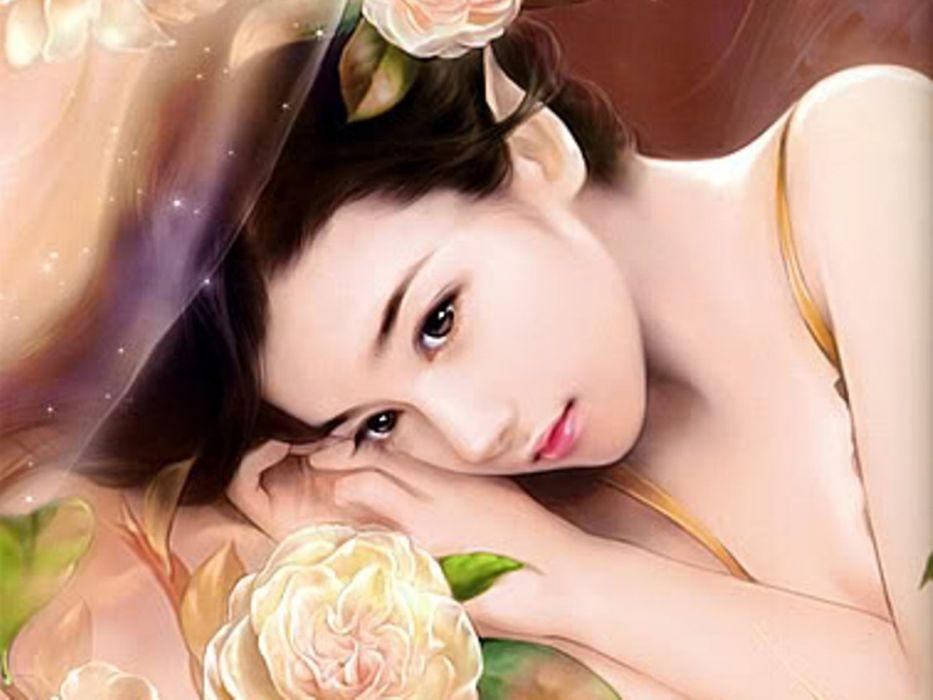 fantasy art Asians wallpaper