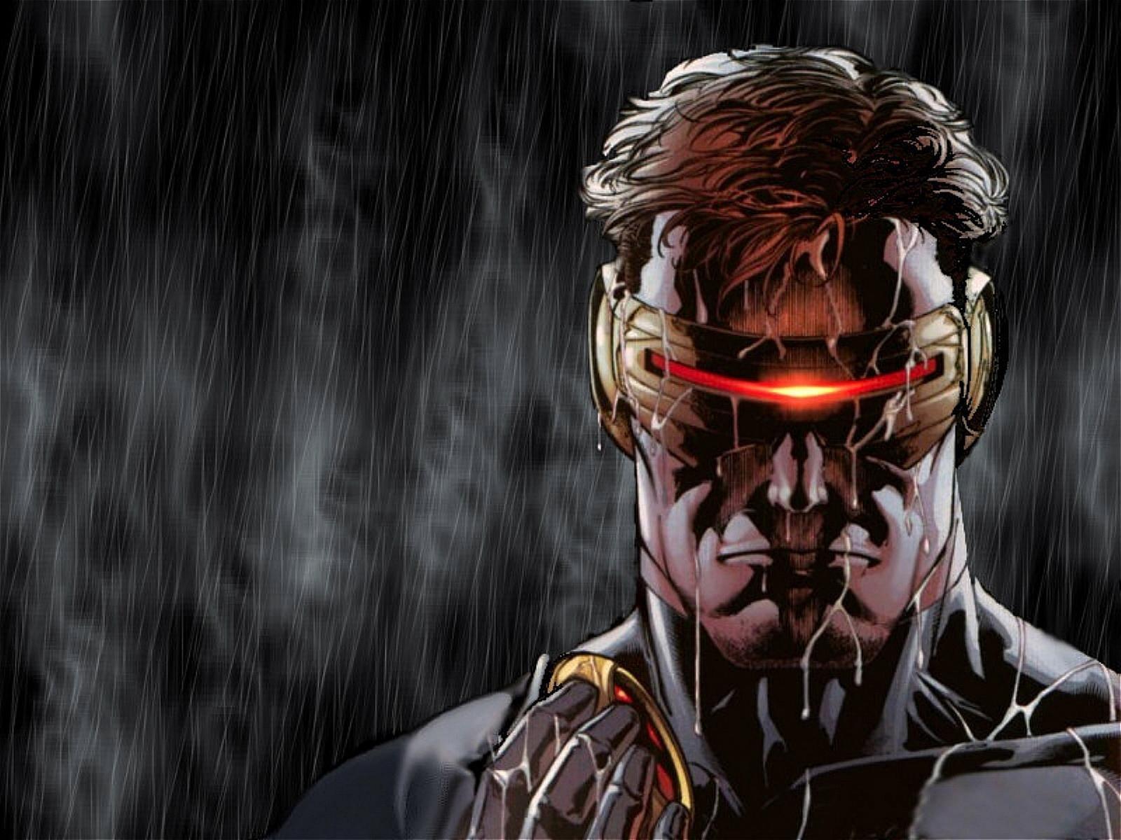 comics marvel comics cyclops ultimate x men wallpaper