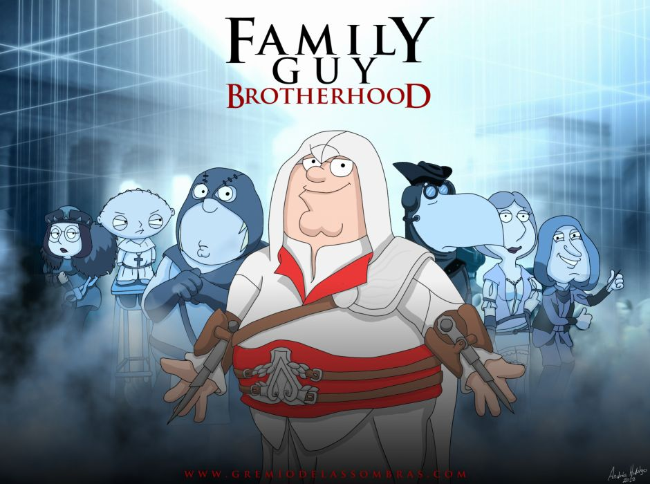 FAMILY GUY assassins creed       f wallpaper