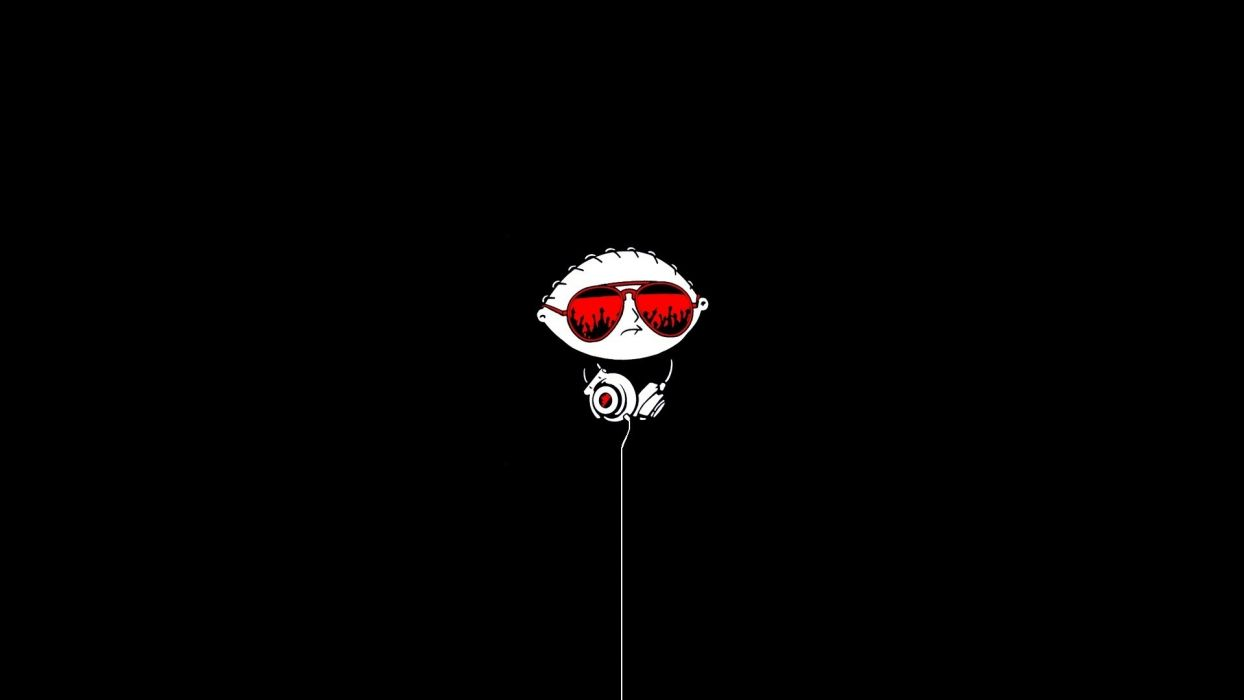 FAMILY GUY glasses headphones      f wallpaper