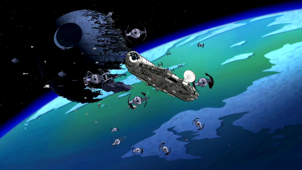 Family Guy Star Wars Sci Fi Spaceship F Wallpaper 1920x1080 184429 Wallpaperup