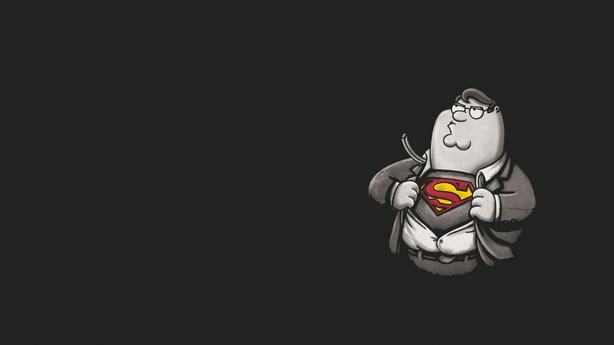 FAMILY GUY Superman Superhero G Wallpaper