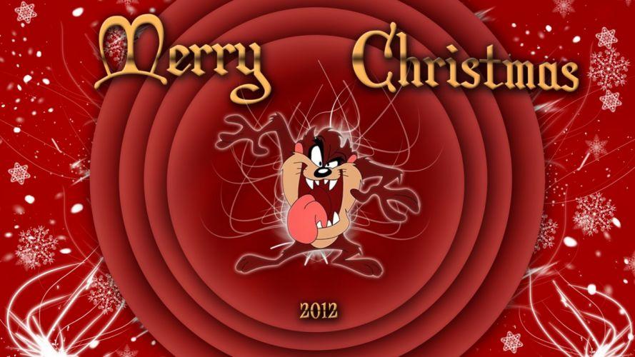 looney tunes christmas fd wallpaper