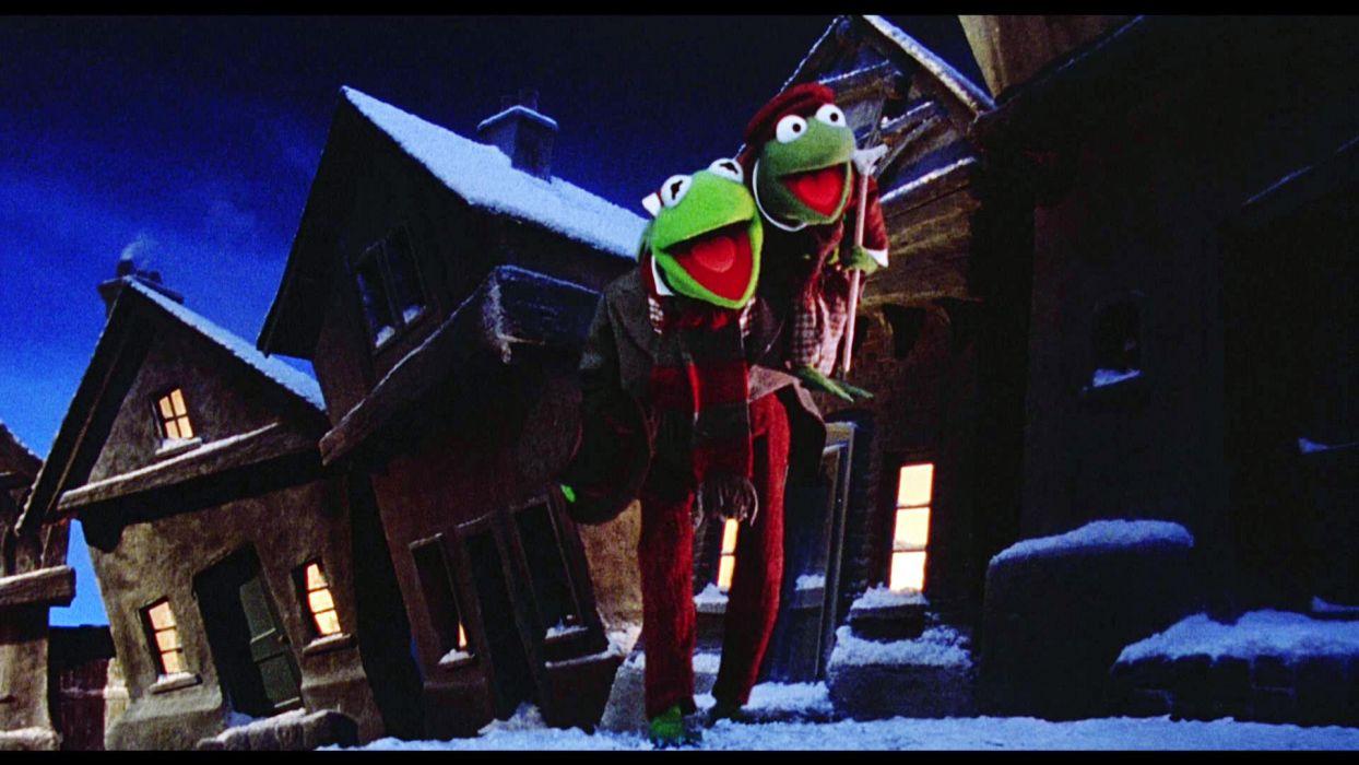 Muppet Christmas  d wallpaper