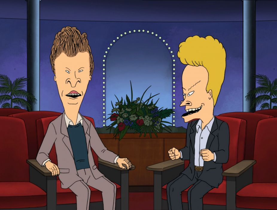 BEAVIS and BUTTHEAD    eq wallpaper