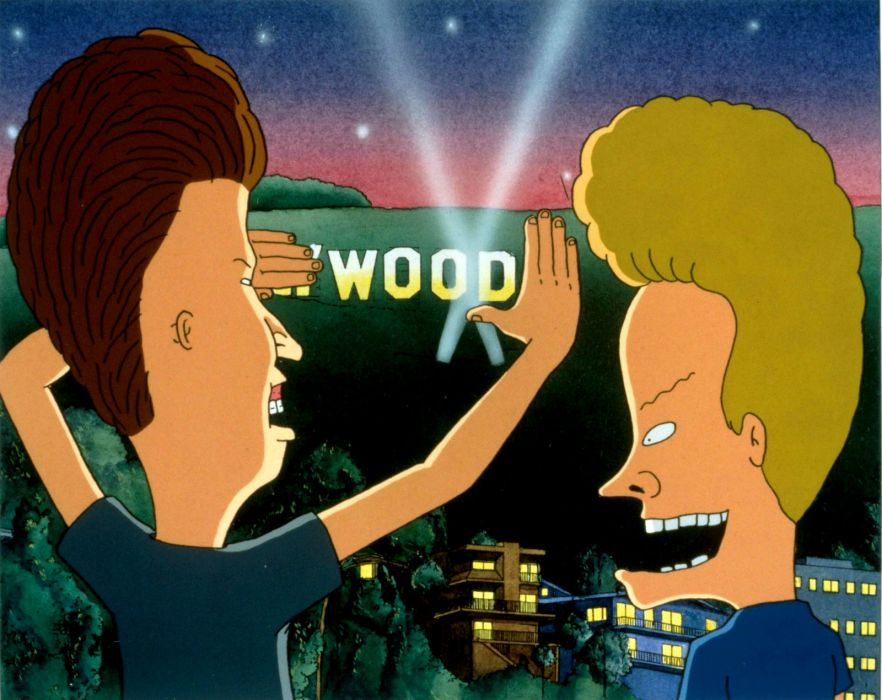 BEAVIS and BUTTHEAD   bx wallpaper