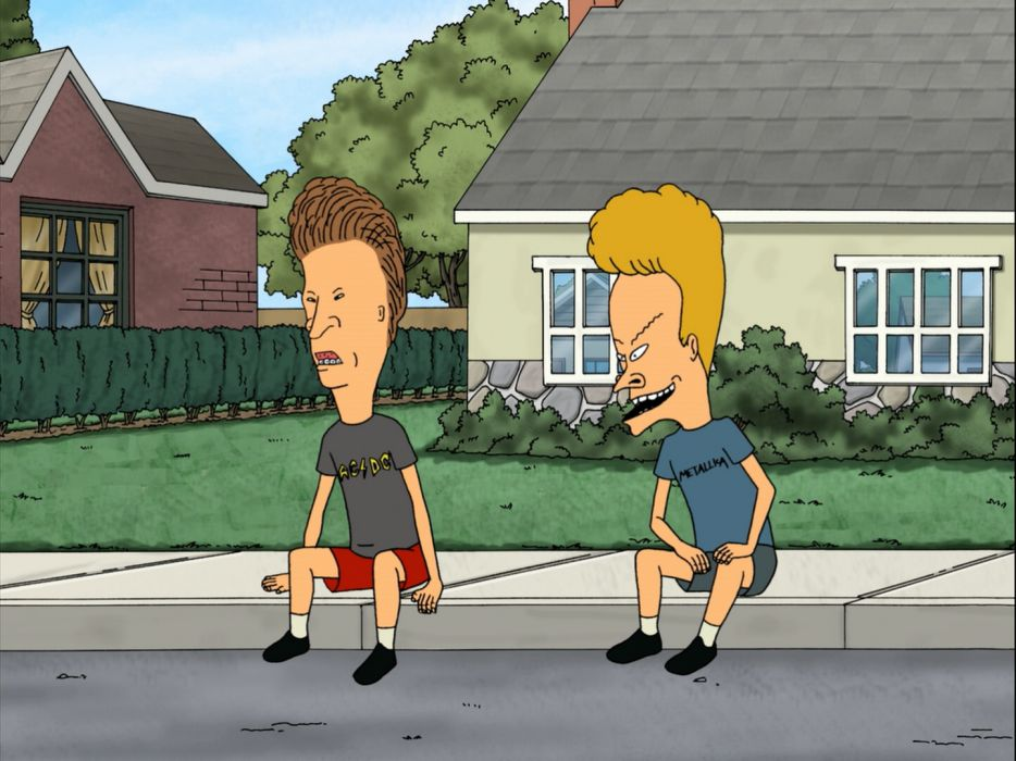BEAVIS and BUTTHEAD  hq wallpaper