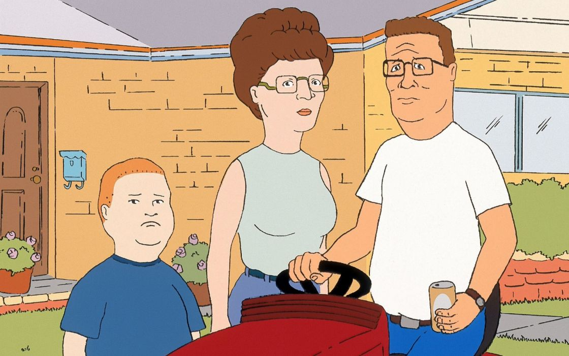 KING of the HILL  e wallpaper
