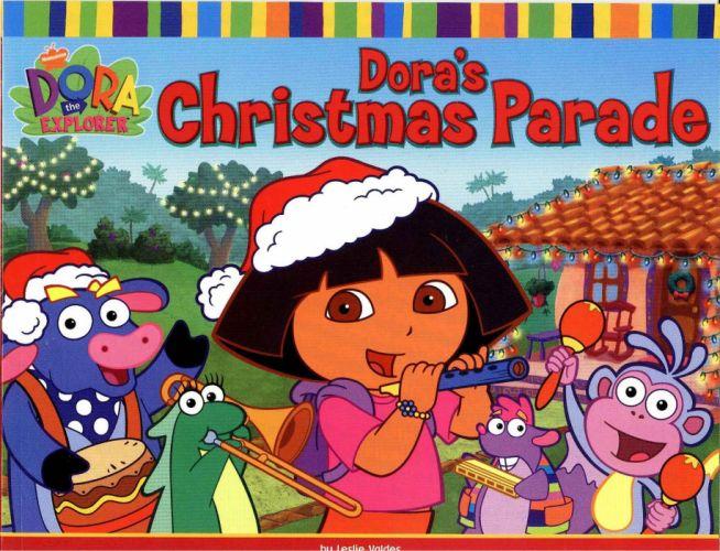 christmas Dora the Explorer wallpaper