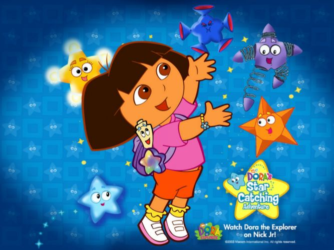 Dora the Explorer w wallpaper
