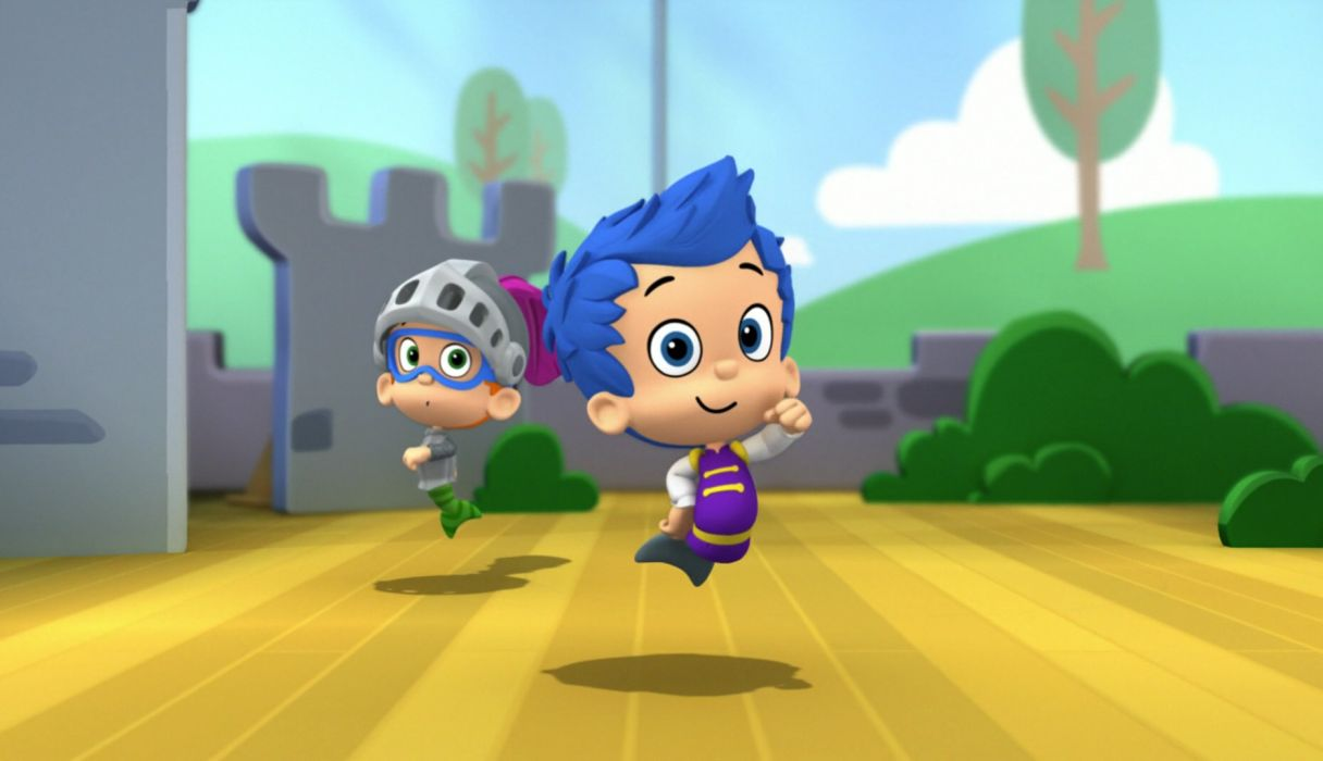BUBBLE GUPPIES   e wallpaper