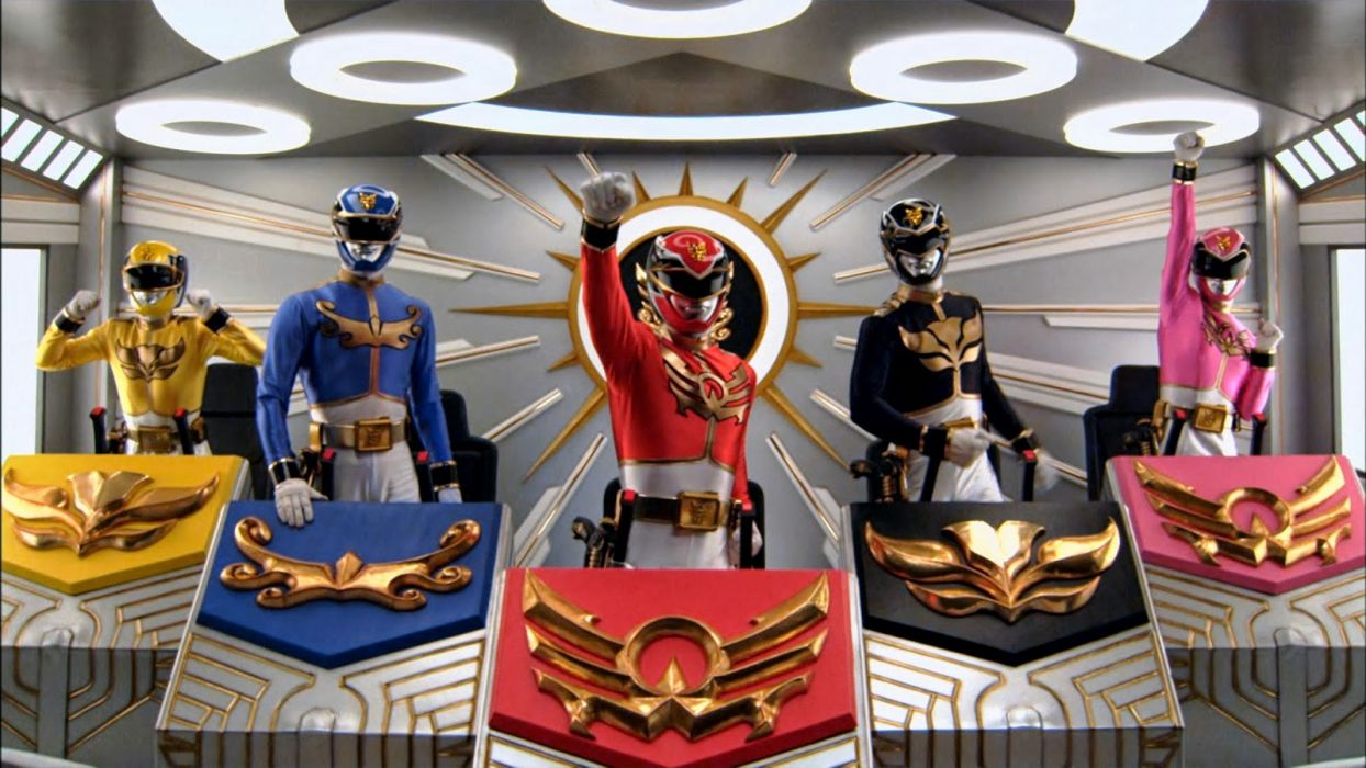 POWER RANGERS MEGAFORCE action adventure children superhero television     r2 wallpaper