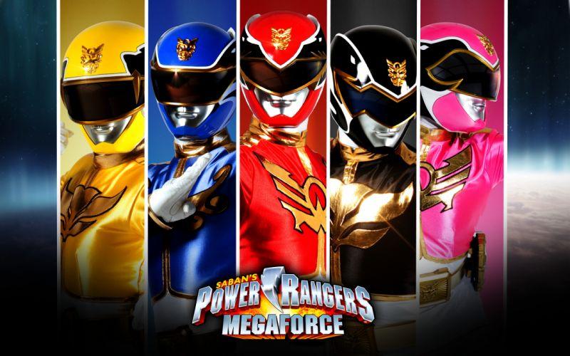 POWER RANGERS MEGAFORCE action adventure children superhero television fa wallpaper