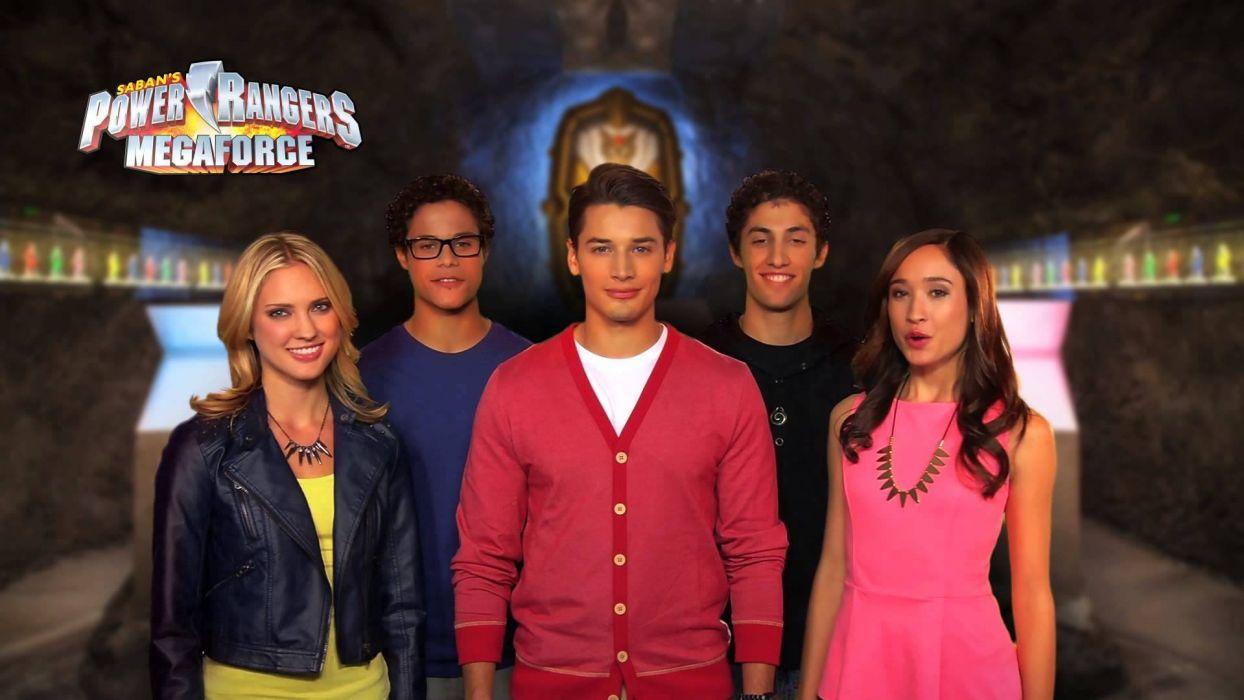 POWER RANGERS MEGAFORCE action adventure children superhero television    ga wallpaper